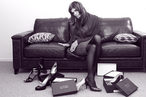 buty w zyciu kazdej kobiety